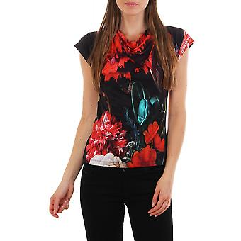Paul Smith Womens Ss Floral Top