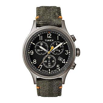 Zegarek na rękę Timex TW2R60200 Allied Chronograph Gunmetal Grey