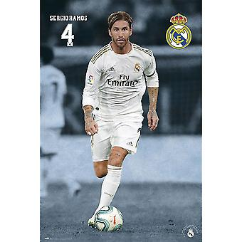 Real Madrid FC Ramos Poster