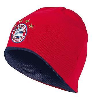 FC Bayern Munich Adults Unisex Reversible Knitted Hat