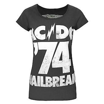 Amplified AC/DC Comics Jailbreak '74 Women's T-Shirt
