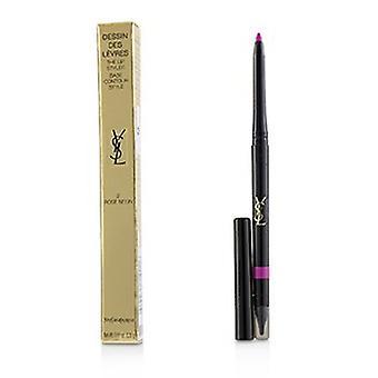 Yves Saint Laurent Dessin Des Levres Lip Styler - # 2 Rose Neon 0.35g/0.01oz