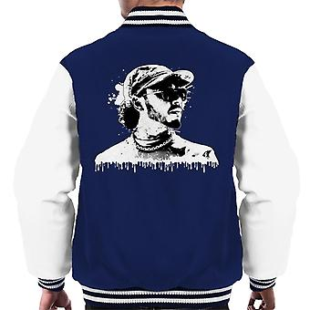 Motorsport Images Lewis Hamilton Image Men's Varsity Jacket