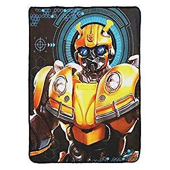 Super Soft Throws - Transformers - Bee Alert  New 45x60