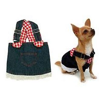 Freedog Dark skirt suspenders T-25 (Dogs , Dog Clothes , Dresses)