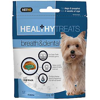 Mark & Chappell Snacks Breath&Dental Perros Y Cachorros 70R (Dogs , Treats , Biscuits)