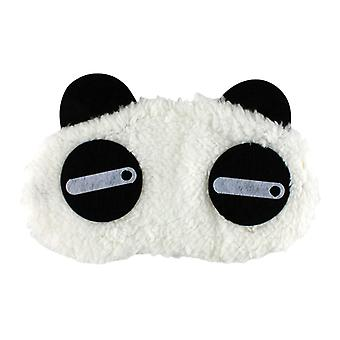 Sneaky Panda, fluffy sleeping mask for travel and relaxation