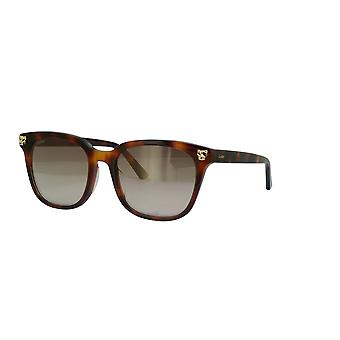Cartier CT0143S 002 Havanna/Braun Sonnenbrille