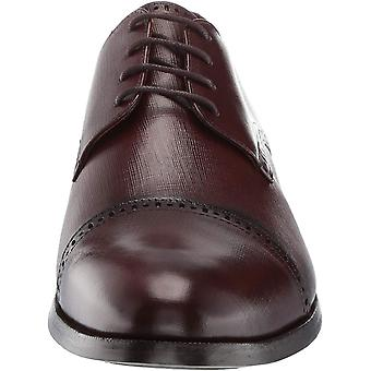 MARC JOSEPH NEW YORK Mens Leather Oxford Lace-up Dress Shoe