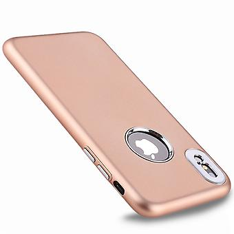 TPU shell med kamerabeskyttelse til iPhone X