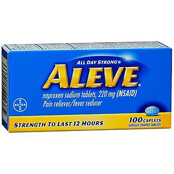 Aleve all day strong pain reliever fever reducer, caplets, 100 ea