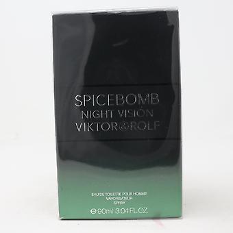 Spicebomb Night Vision door Viktor & Rolf Eau De Toilette Homme 3.04oz Spray Nieuw
