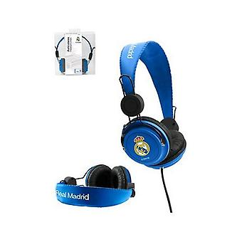 Headphones with headband real madrid c.f. blue