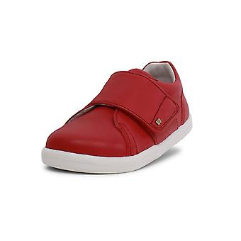 Bobux  i-walk boston rio red shoes
