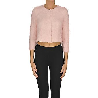 Anneclaire Ezgl112026 Donne's Cardigan di cotone rosa