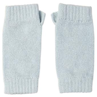 Johnstons of Elgin Cashmere Wristwarmers - Powder Blue