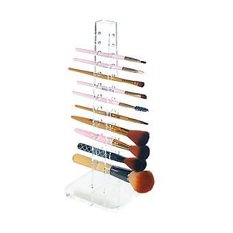 OnDisplay Acrylic Cosmetic Brush Organization Tower