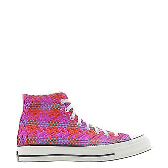 Converse 167990c803 Men's Fuchsia Cotton Hi Top Sneakers