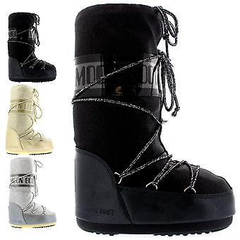 Womens Tecnica Moon Boot Delux Winter Wateproof Snow Mid Calf Boot