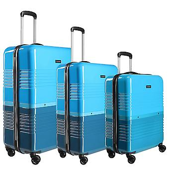 travelite Frisco Koffer Set 3-teilig S-M-L, Blau