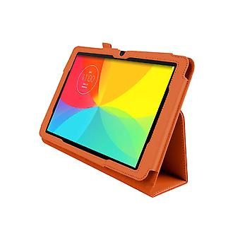 "Magnetic PU Leather Case Cover for LG G Pad V700 10.1""[Orange]"