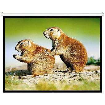 Brateck Manual Projector Screen 2m x 1.5m (4:3 Ratio) Self-Locking