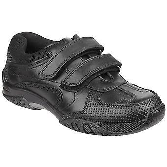Hush puppies women's jezza back to school shoe black 25342