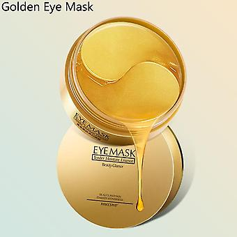 60 Pieces Golden Collagen Mask - Natural Moisturizing Gel , Eye Patches -