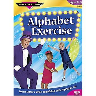 Rock'N Learn - Alphabet Exercise [DVD] USA import