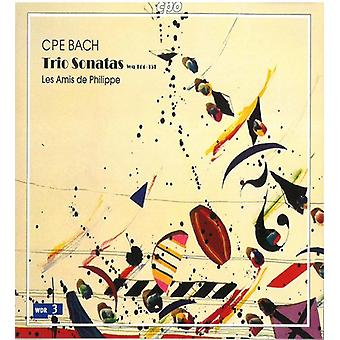 C.P.E. Bach - C. P. E. Bach: Trio Sonatas, Wq 144-151 [CD] USA import