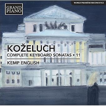 Kozeluch / - Kozeluch /: Complete Keyboard Sonatas 11 [CD] USA import