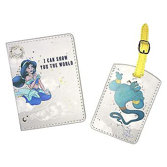 Disney Aladdin Passport Cover en Bagage Tag Set
