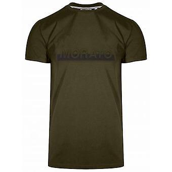 Antony Morato Logotipo rojo camiseta de manga corta verde