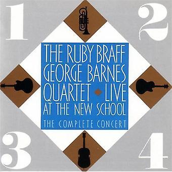 Braff/Barnes Quartet - Live at the New School-Complet [CD] USA import