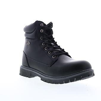 Lugz Nile HI  Mens Black Synthetic Lace Up Casual Dress Boots