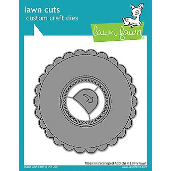 Gazon Fawn Magic Iris geschulpte Add-On Dies