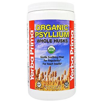 Yerba Prima, Organic Psyllium Whole Husks, 12 oz (340 g)