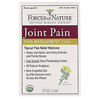 Forces of Nature, Joint Pain, Pain Management, 0.37 oz (11 ml)
