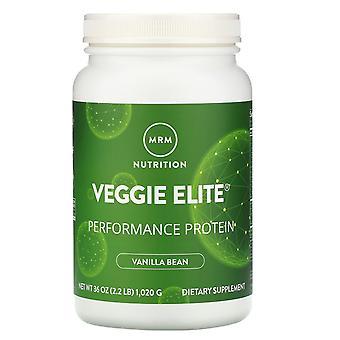 MRM, Veggie Elite, Performance Protein, Vanilla Bean, 2.2 lb (1,020 g)