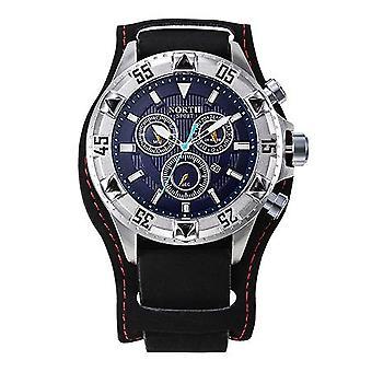 Luxus-Marke Edelstahl Uhr Männer Quarz Armbanduhr