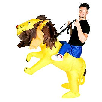 Inflatable Lion Halloween Costume Trick Or Treat One Size Fits All Adults