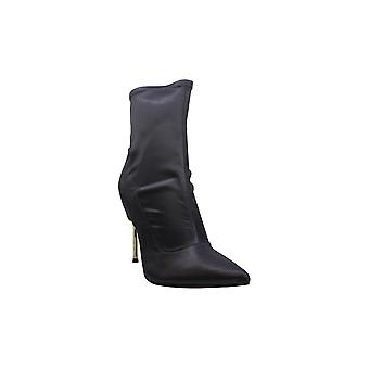BCBGeneration Womens Jolie Leather Almond Toe Ankle Fashion Boots