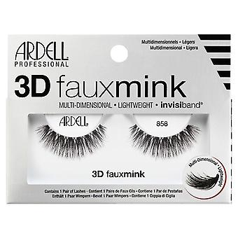 Ardell 3D Faux Nerz Multi Dimensional Wimpern - schwarz 858 - unsichtbare Band