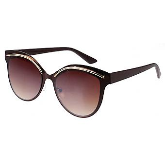 Sunglasses Women's Femme Kat. 3 Butterfly brown (L5122)