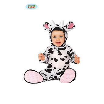 Guirca Kuh Kostüm für Kleinkinde Unisex Karneval Tierkostüm Bauernhof