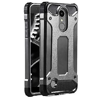 Shell for LG K10 2018 Grey Armor Protection Case Hard