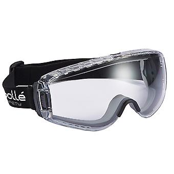 Bolle Safety Pilot Safety Goggles Clear BOLPILOPSI