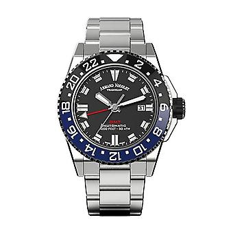 Armand Nicolet JS9-44 GMT Watch for Men's (A486AGN-NR-MA4480AA)