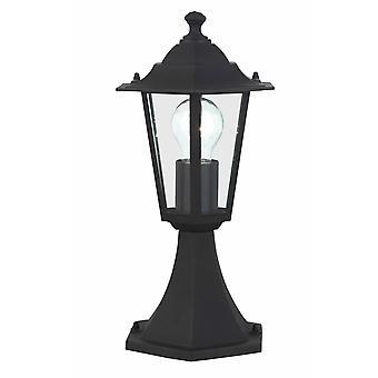 BRILLIANT Lamp Crown Ulkopohjalamppu 37cm musta   1x A60, E27, 60W, sopii normaaleille valaisimista (ei sisälly pakkaukseen)  