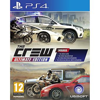 The Crew Ultimate Edition PS4 Game